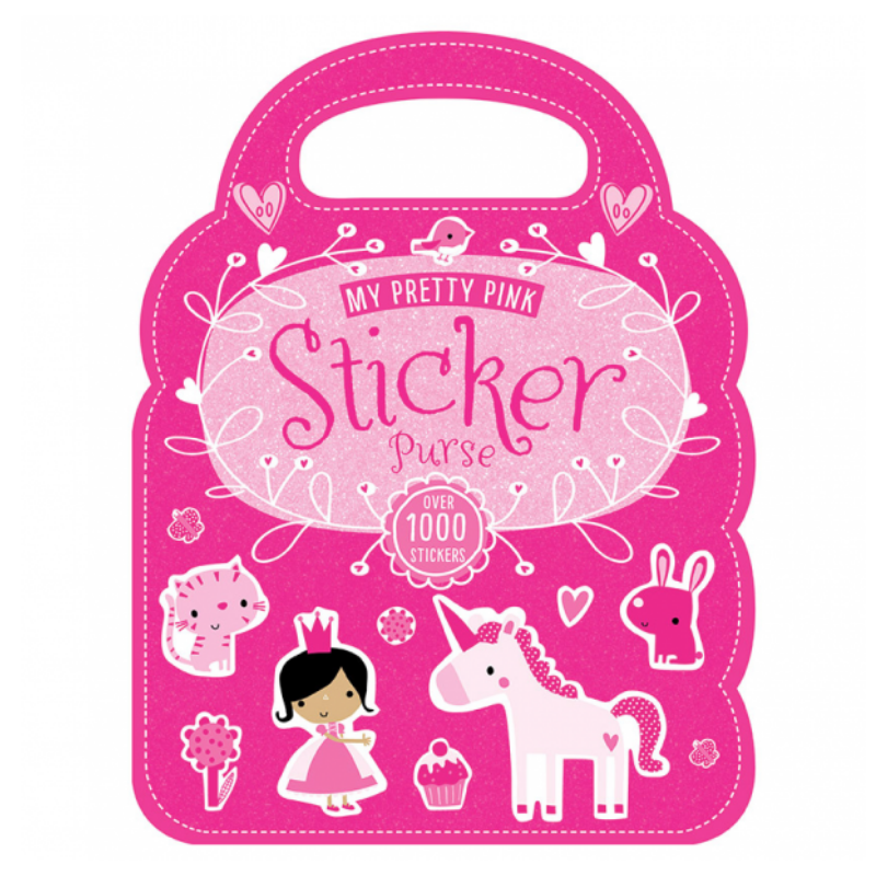 Libro My Pretty Pink Sticker Purse