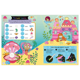 Libro Scratch and Sparkle: Mermaids Activity Book