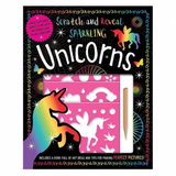 Libro de Actividades Scratch and Reveal Unicorns