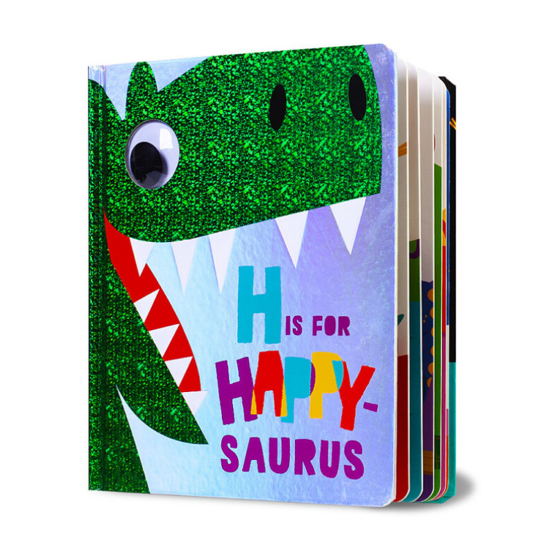 Libro H is for Happy - Saurus