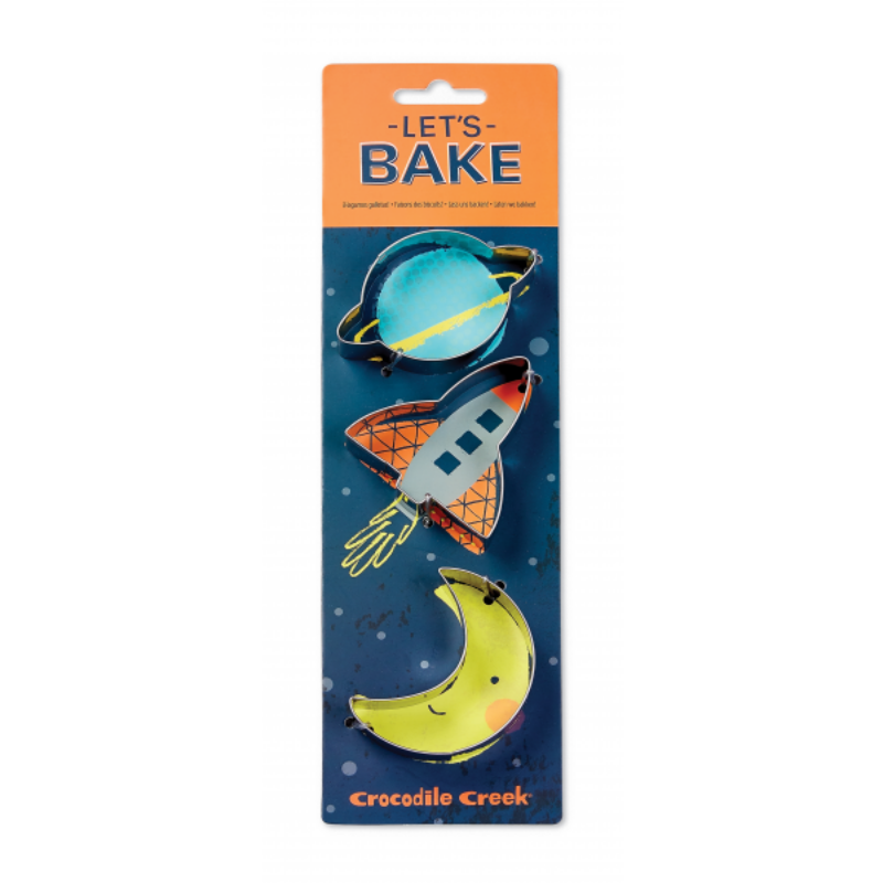 Moldes para Galletas Crocodile Creek