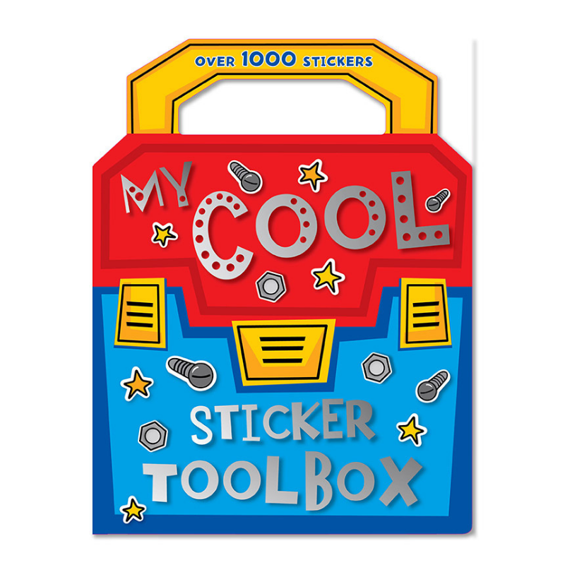Libro My Cool Sticker Toolbox