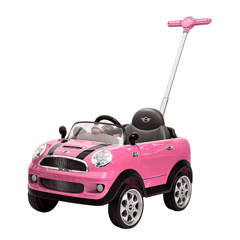 Push Car Minicooper Pink Prinsel