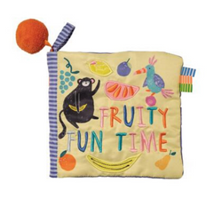 Libro de Tela Fruity Fun Time Manhattan Toys