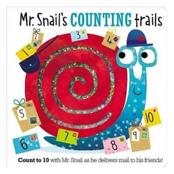 Libro Mr. Snail's Counting Trails