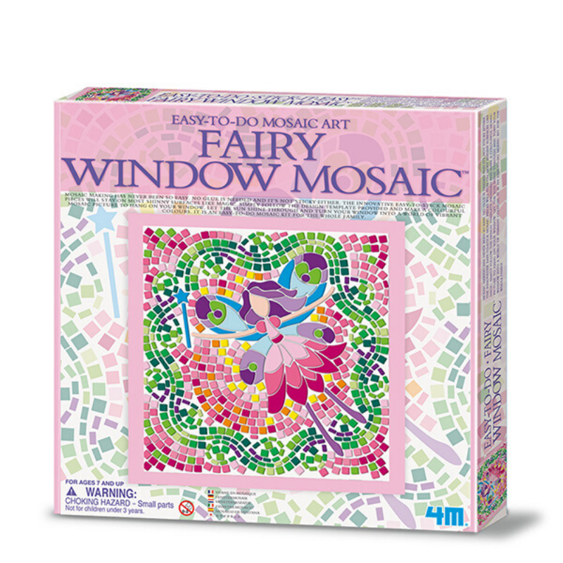 Window Mosaic Fairy 4M