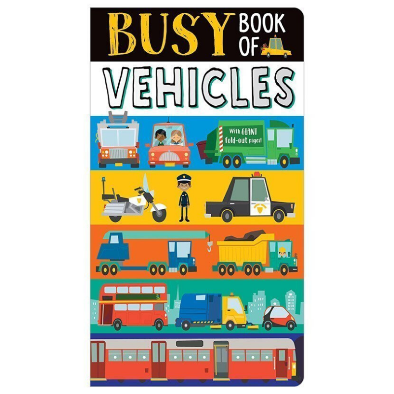 Libro Busy Book of Vehicles