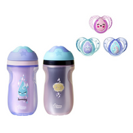 Combo Vasito Entrenador + Chupos 6 -18 Meses Tommee Tippee - babycentro-com - Tommee Tippee