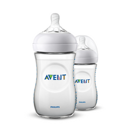Teteros Natural  9 onzas 2.0 x 2 Avent - babycentro-com - Avent