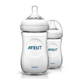 Teteros Natural  11 onzas 2.0 x 2 Avent - babycentro-com - Avent