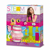 Experimento para Niña Tin Can Steam 4M
