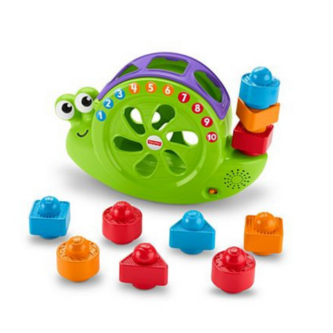 Caracol Clasificador 3 en 1 Fisher Price - babycentro-com - Fisher Price