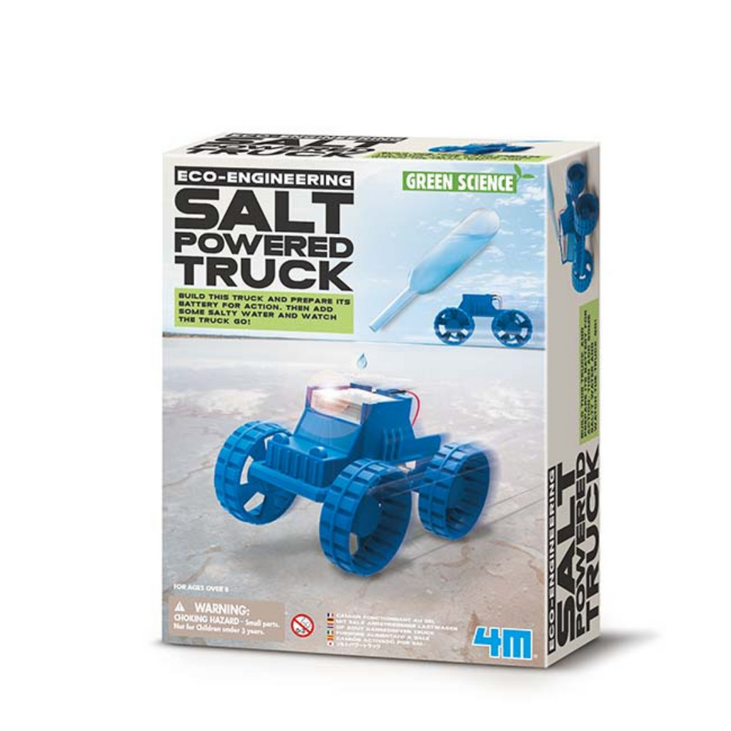 Experimento Salt-Powered Truck 4M - babycentro-com - 4M