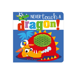 Libro Never Touch a Dragon - babycentro-com - Make Believe Ideas