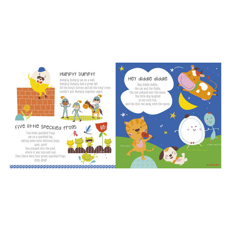 Libro y Música Nursery Rhymes - babycentro-com - Make Believe Ideas