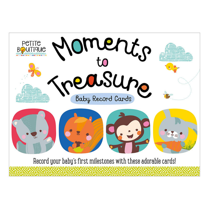 Flash Cards Moments to Treasure - babycentro-com - Make Believe Ideas