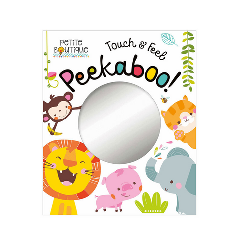 Libro Touch & Feel Peekaboo Animals - babycentro-com - Make Believe Ideas
