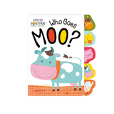 Libro Touch & Feel Who Goes Moo? - babycentro-com - Make Believe Ideas