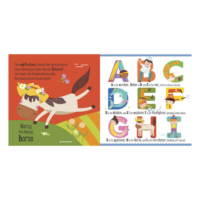 Libro Trace & Learn Alphaletters - babycentro-com - Make Believe Ideas