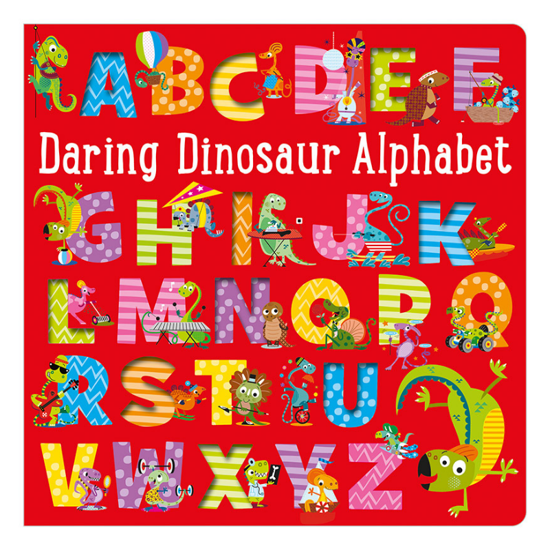 Libro Daring Dinosaur Alphabet - babycentro-com - Make Believe Ideas