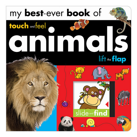 Libro My Best Ever Book Of Animals - babycentro-com - Make Believe Ideas