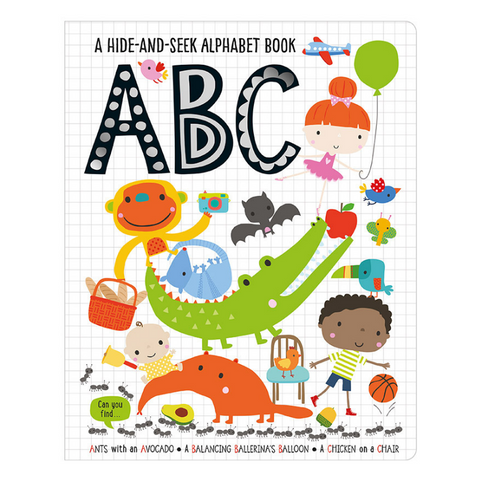 Libro Hide and Seek ABC