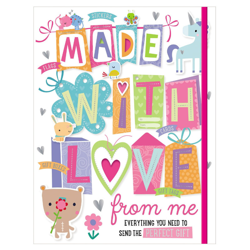 Libro Made With Love From Me - babycentro-com - Make Believe Ideas