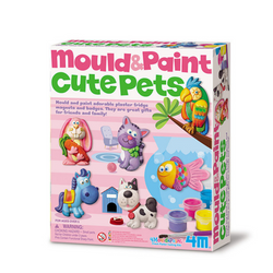 Manualidades Mould & Paint Mascotas 4M