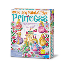 Manualidades Mould & Paint Princesas Escarchadas 4M - babycentro-com - 4M