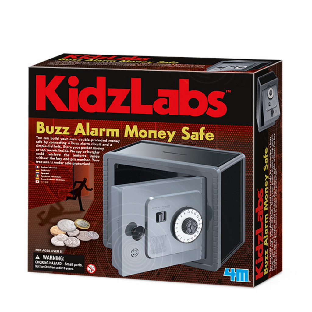 Juego Buzz Alarm Money Safe KidzLab 4M
