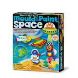 Manualidades Mould & Paint Glow Space 4M
