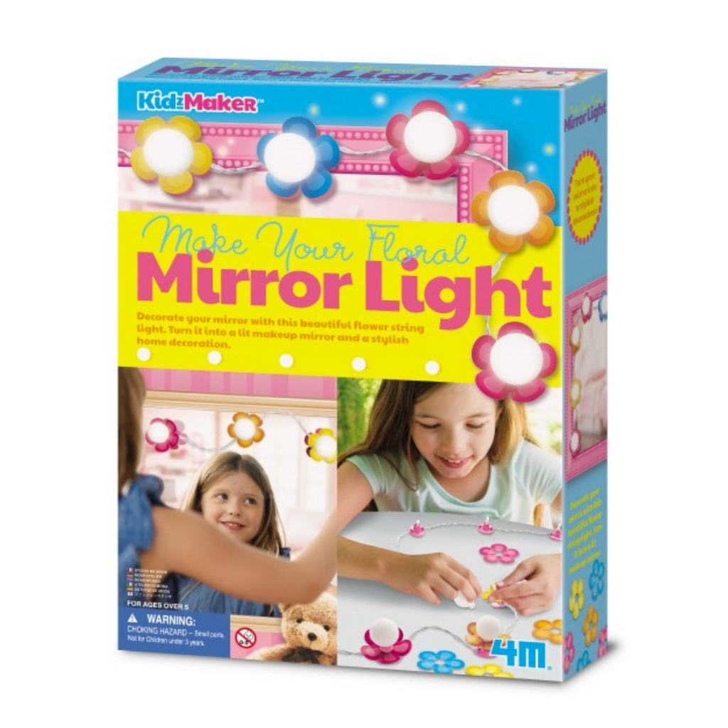 Make Your Floral Mirror Light 4M