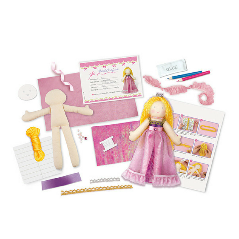 Doll Making Kit Princesa 4M - babycentro-com - 4M