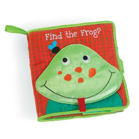 Libro de Tela Find the Frog Manhattan Toys-Babycentro.com