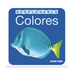 Libro desplegable - Colores Oceano-Babycentro.com
