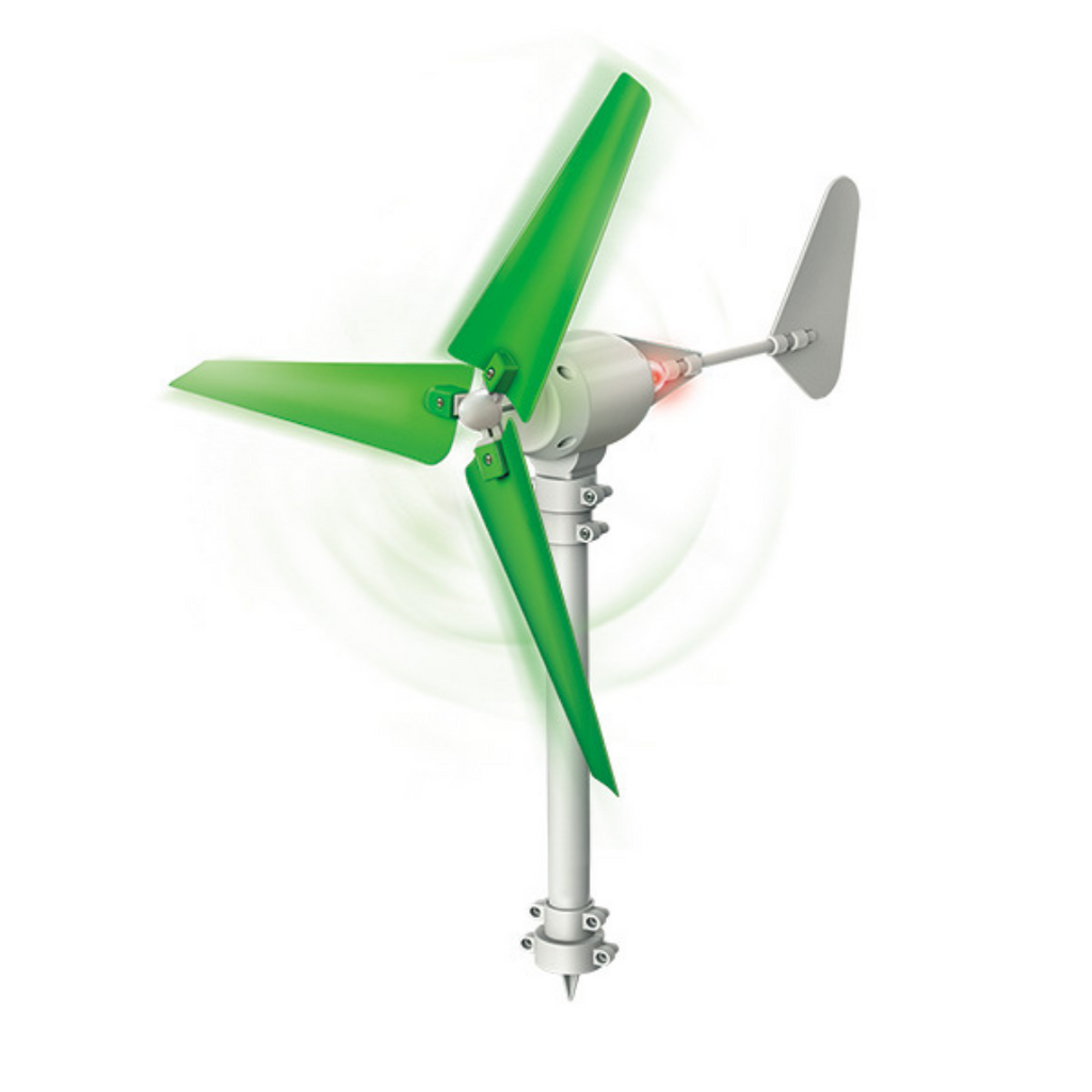 Experimento Turbina de Viento Green Science 4M
