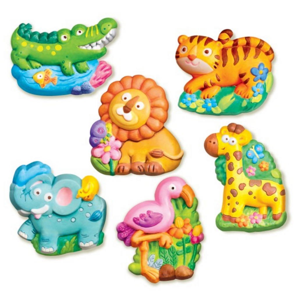 Manualidades Mould & Paint Zoo 4M
