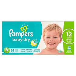 Pampers Baby Dry Pañales Etapa 6 (16+ kg) 96 Unidades - babycentro-com - Pampers