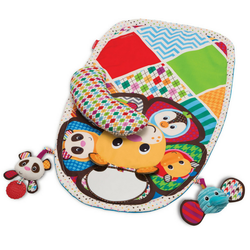 Peek & Play Tummy Time Activity Mat Infantino-Babycentro.com