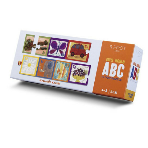 Rompecabezas 52 Piezas Kid's World ABC Crocodile Creek - babycentro-com - Crocodile Creek