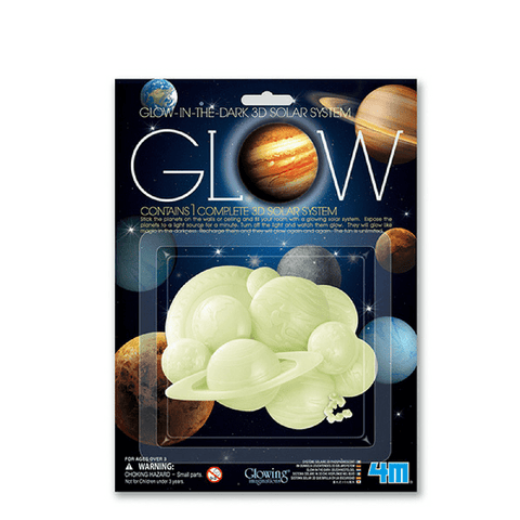 Sistema Solar 3D Glow in the Dark - babycentro-com - 4M