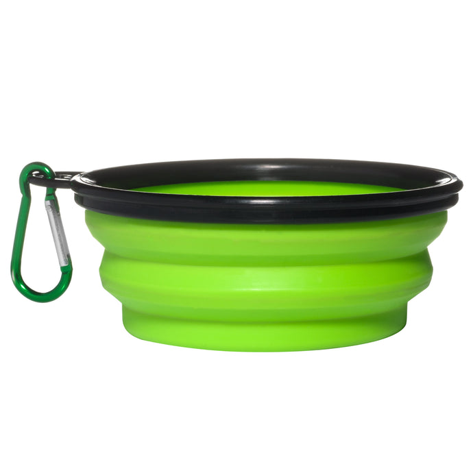 Collapsible Silicon Dog Bowl (12oz) - The Institute of Pet Nutrition