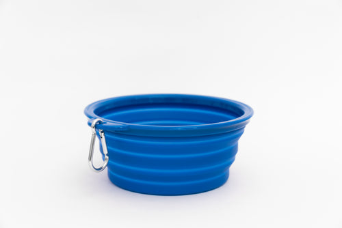 Collapsible Water Bowl - Blue