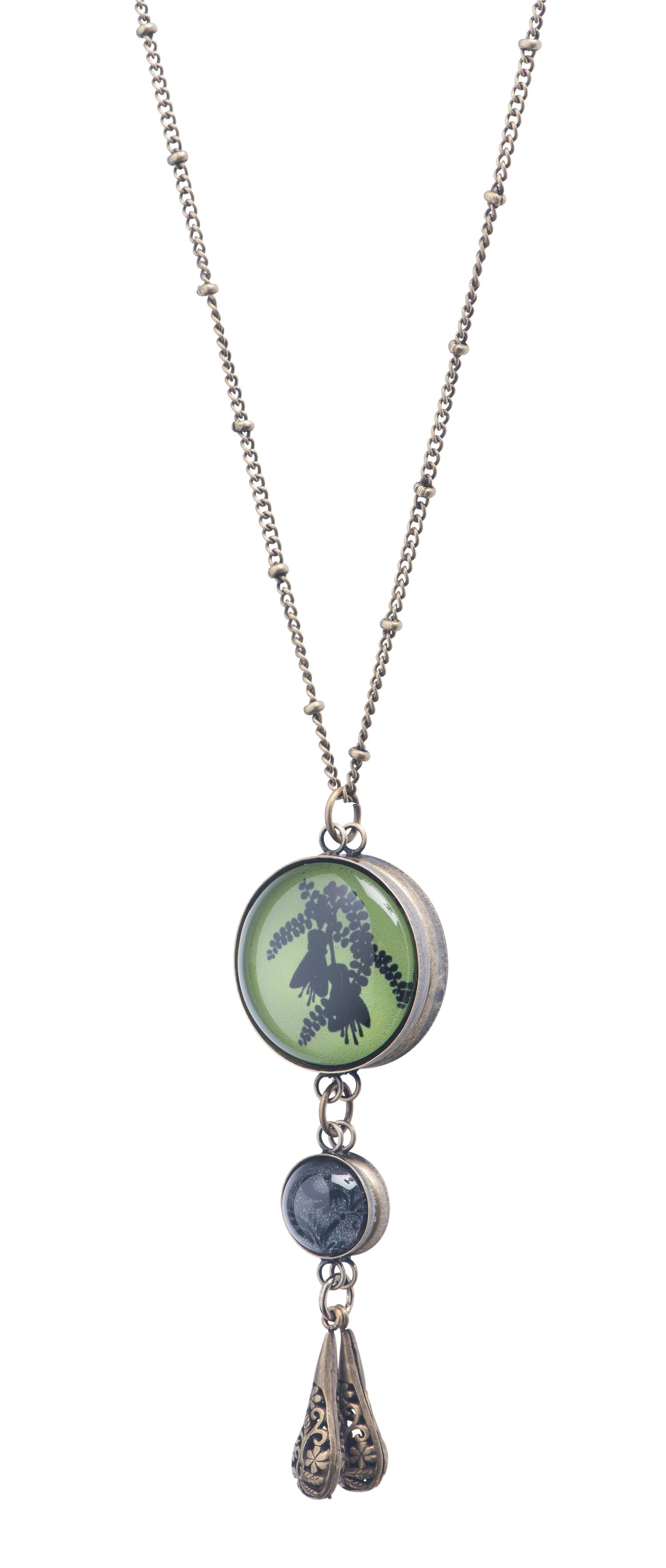 kelly green design the sea in glass jessica jewelry necklace