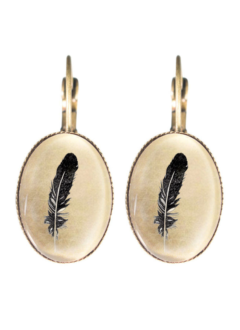 Joli The Feather Clip Earrings Fabuleux Vous Jewellery