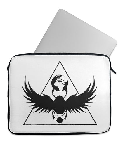 Black Origin Laptop Sleeve
