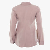 Mellow rose pink fitted shirt (Standard or Longer length sleeve)