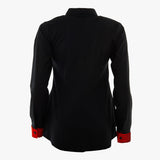 Signature black shirt with a twist (Standard or Longer sleeve length)