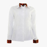 Signature white shirt with a twist (Standard or Longer sleeve length)