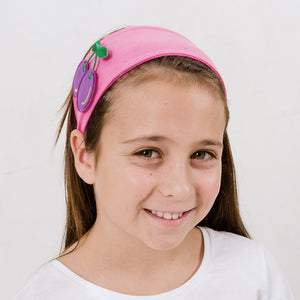 bandeau / headband (gris) 3 patch